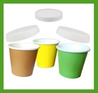 bicchiere caffè 80 ml cartoncino con coperchio