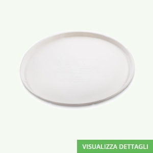 Piatti pizza biodegradabili in polpa di cellulosa DIGLASS