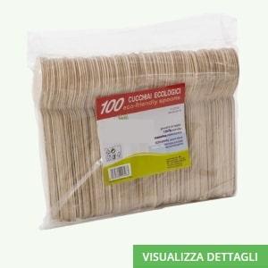 Cucchiai biodegradabili in legno di betulla DIGLASS