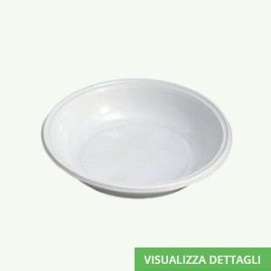 Piatto fondo biodegradabili in polpa di cellulosa DIGLASS