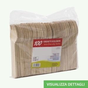 Forchette biodegradabili in legno di betulla DIGLASS