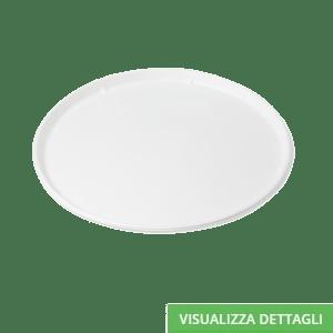 Piatti pizza biodegradabili e compostabili in polpa di cellulosa DIGLASS