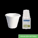 Bicchieri biodegradabili e compostabili in polpa di cellulosa DIGLASS