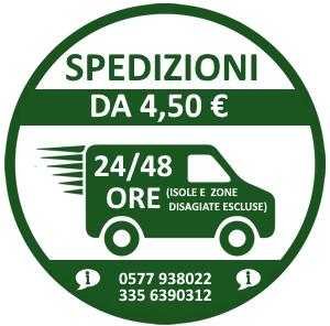 Spedizioni 24/48 ore da 4,50 Euro